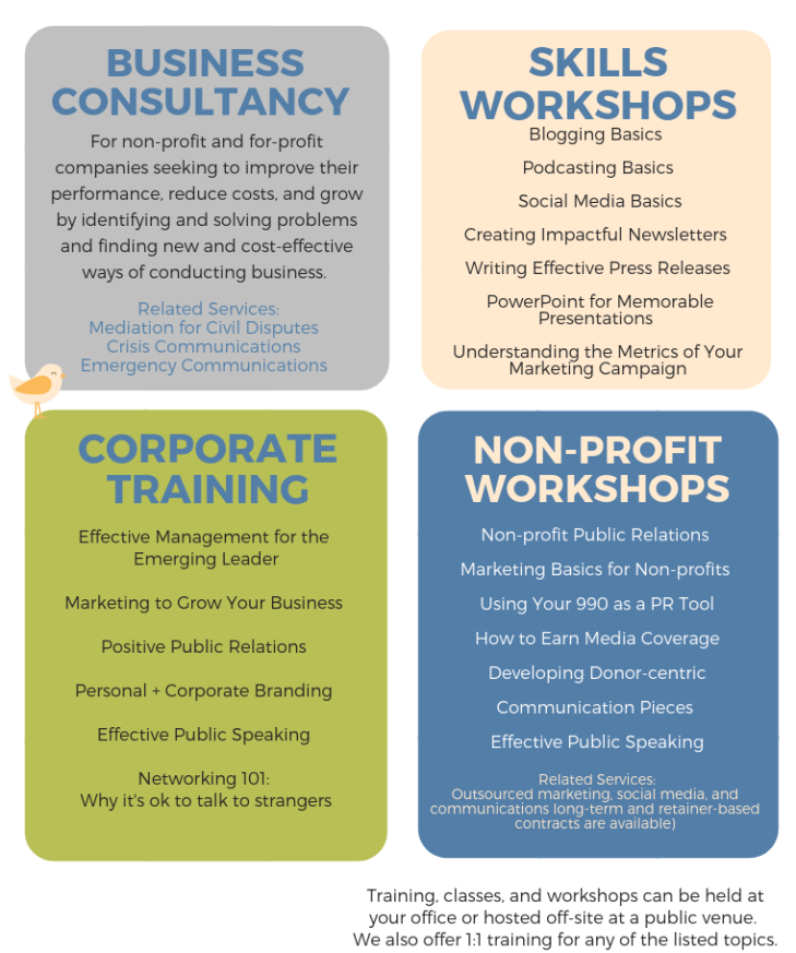 Management Consultantcy for NonProfits